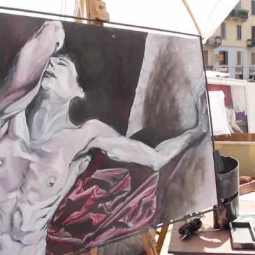 """Video report della rassegna """"Arte sul Naviglio Grande"""""""