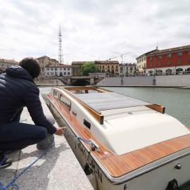 Navigli: Arriva il taxi-boat come a Venezia.