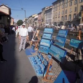 Ecco alcune immagini della Mostra d'Arte di Domenica 15 Maggio.
