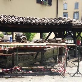 Quasi ultimati i lavori di restauro al Vicolo dei Lavandai.
