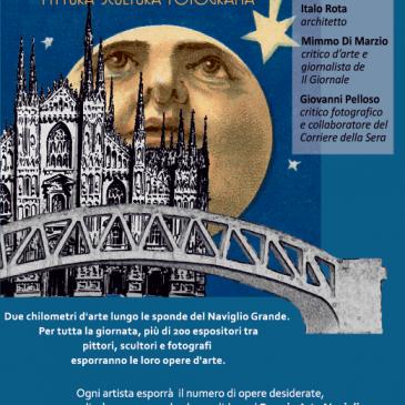 Arte sul Naviglio Grande, domenica 6 maggio 2018