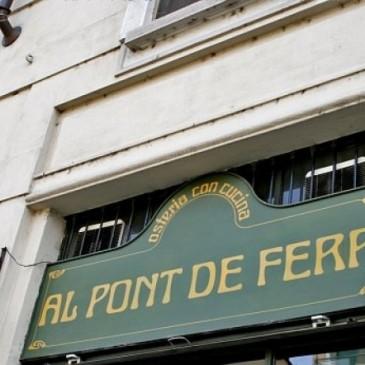 """""""Al Pont de Ferr"""", da quasi trent'anni una delle perle culinarie del Naviglio…"""