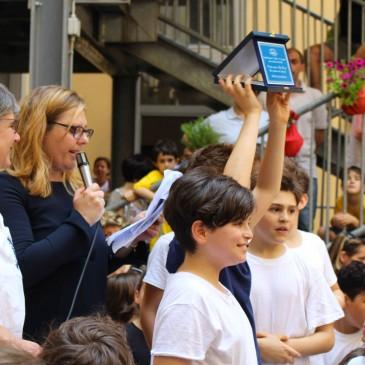 """La premiazione dei bambini della Scuola Primaria """"F.Conforti-B.Avogadro"""" per il concorso """"Fare Poesia con Fantasia"""""""