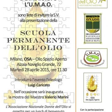 Sul Naviglio Grande è nata la Scuola Permanente dell'Olio.